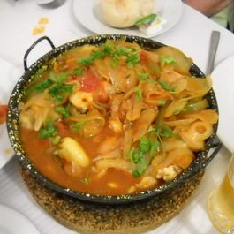 Seafood Stew that Reminds Us of Portugal