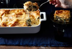 1e3acb55 e79f 4976 a32f 63a0fee27369  2016 1019 kale and italian sausage lasagna with pumpkin bechamel mark weinberg 371