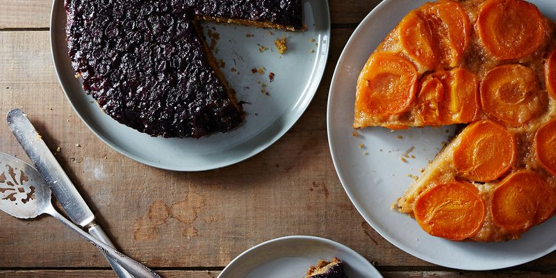Make any fruit into an upside-down cake