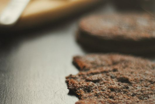Chocolate Ginger Molasses Cookies