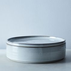 Rustic Tin-Glazed Lidded Bowls