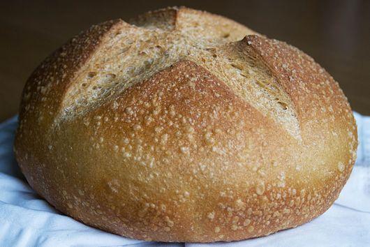 Whole Wheat Cast Iron Bread