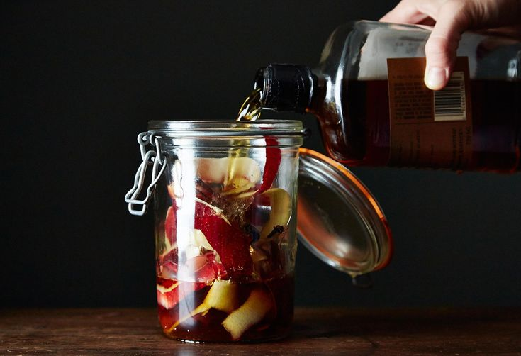 Apple Peel Bourbon (+ An Indian Summer Cocktail)