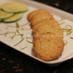 orange - oat cookies