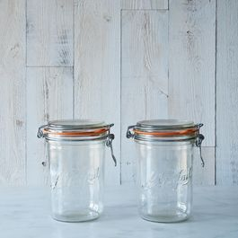 Le Parfait 35 Ounce Bail Closure Canning Jar (Set of 2)