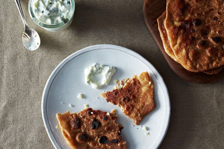 Rosemary Parathas on Food52