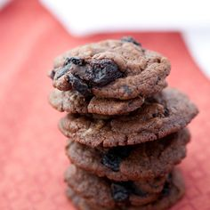 Chocolate Cherry Chili Cookie