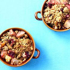 Apple, Pear and Cranberry Crisp