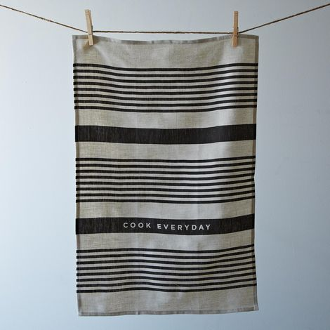Striped Everyday Tea Towel