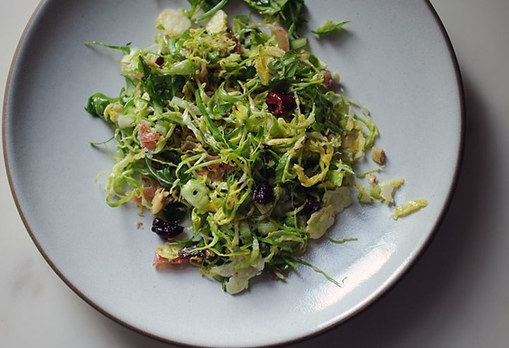 Brussels Sprouts Salad a la M. Wells