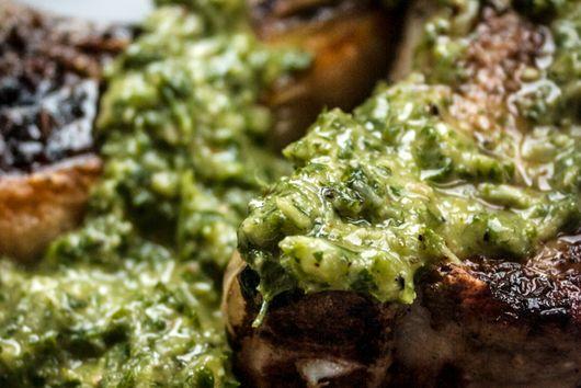 Lamb Chops & Argentine Chimichurri