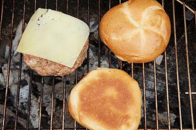 Cheese and bun