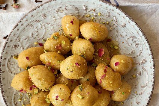 Loukoumades - Cypriot Honey Doughnuts