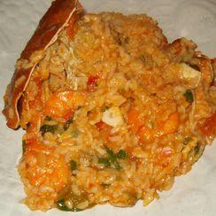 "Very ""Saucy"" Seafood Rice – Arroz de Marisco Malandro (Portugal)"