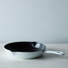 "Staub Fry Pan, White, 10"""
