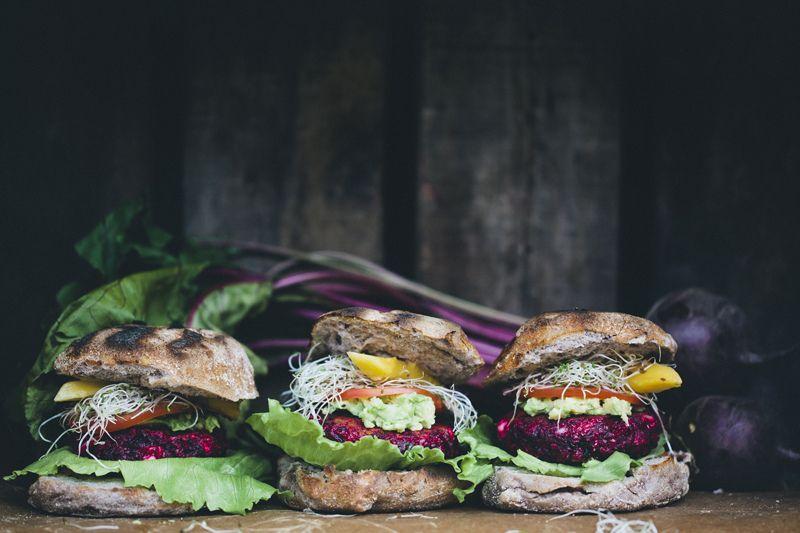 Beetroot and Feta Burgers on Food52