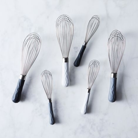 Silicone Grip Whisk (Set of 2)
