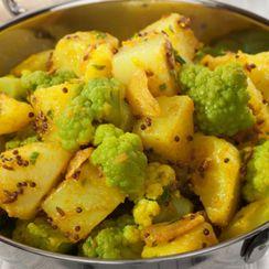 Potato and Cauliflower Salad