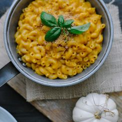 Chipotle Pumpkin Mac N' Cheese