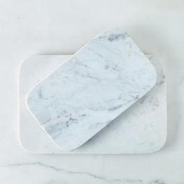Marble & Copper Serving Board
