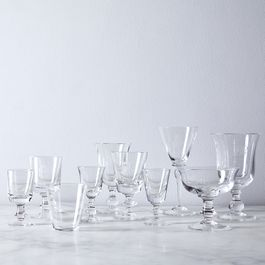 Smooth Vintage Italian Crystal Glassware
