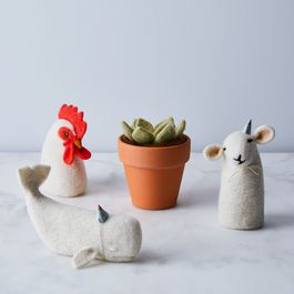 DIY Felted Animal & Plant Kits