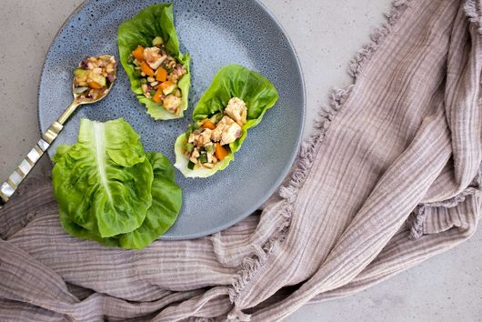 The best vegan san choy bau {gluten-free}