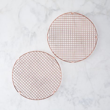 Nordic Ware Copper-Plated Cooling Grids (Set of 2)