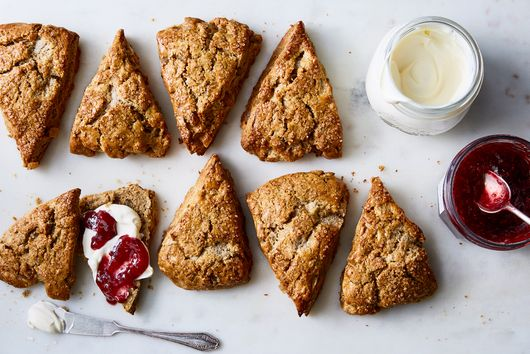 These Extra-Tender Ginger Scones Are a Cross Between Flaky Biscuits & Spice Cookies