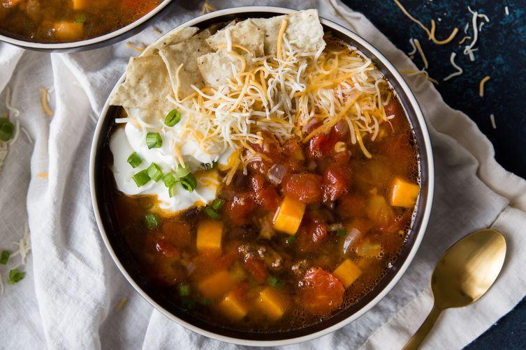 Sweet Potato Taco Soup