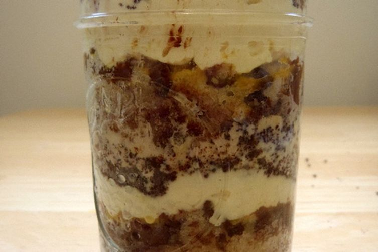 Happiness Cake in a Jar
