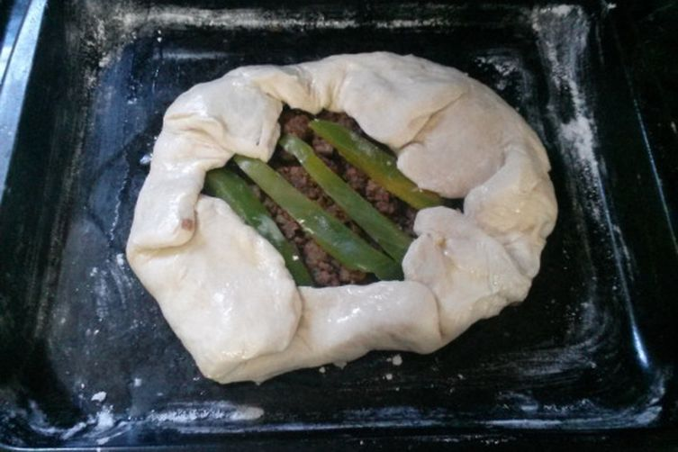 Steak and Sweet Potato Galette