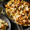 Creamy, Cheesy Artichoke & Chicken Pasta Bake