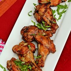 Tamarind and Ginger Chicken Wings