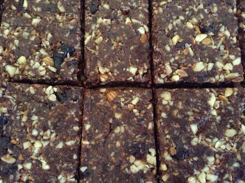 Groovy Chocolate Cherry Coconut Bars