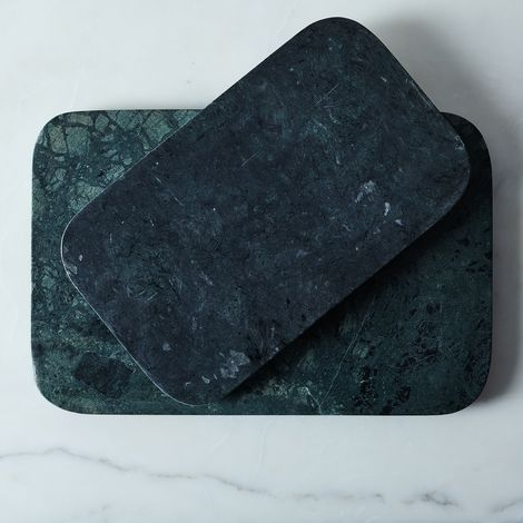 Marble & Metal Serving Board