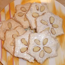 German Holiday Cinnamon Star Cookies