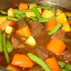 Butternut Squash & Beef Stew