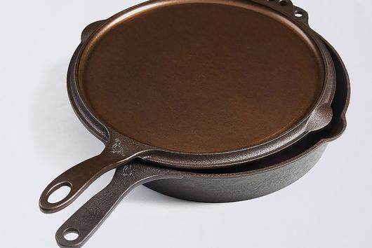 Smithey Cast Iron 2-in-1 Griddle and Skillet, 12""