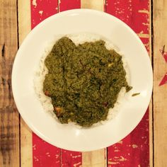 Sarson Ka Saag: Saag Paneer with Broccoli Rabe and Spinach