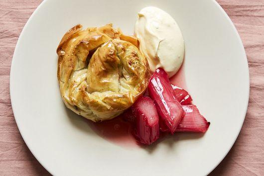 Ketmer (Pistachio, Cream & Rose Baklava)