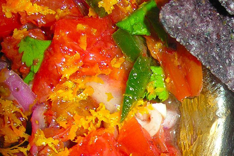 Sangria salsa