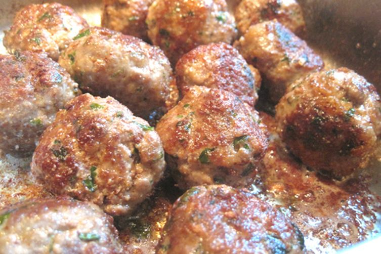 Mama Caruso's Fried Meatballs (don't tell my family!)