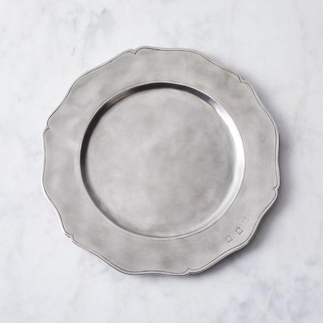Italian Pewter Gallic Platter