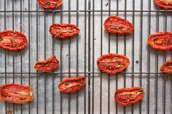 Sun-Dried Tomatoes, Out of the Sun