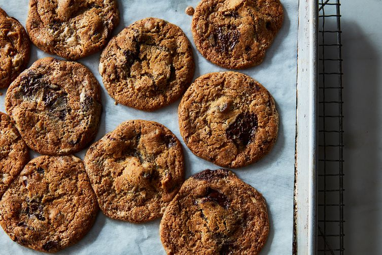 Date, Halvah, and Chocolate Chunk Cookies
