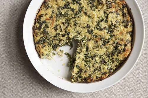 Quinoa and Kale Crustless Quiche