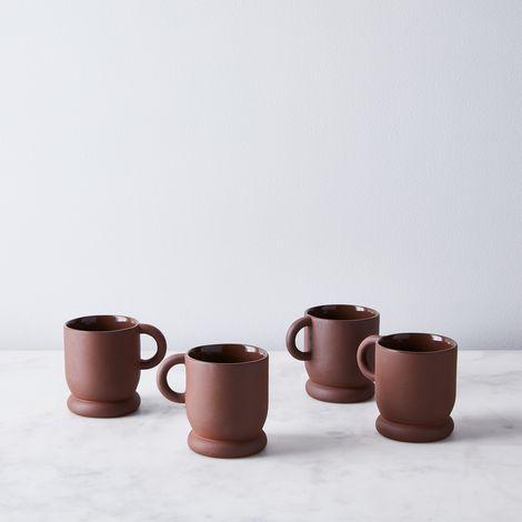 Terracotta Mugs (Set of 4)