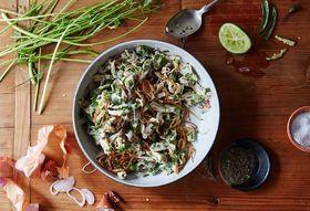 3c290d69 cb2f 4e4e 8735 cdf89152c173  2016 0315 burmese chicken salad with coriander linda xiao 061