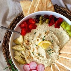 Loaded White Bean Dip